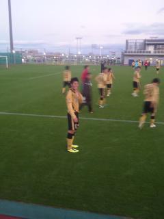 昨日のサッカー